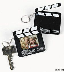 Amazon.com: 12 Director's Clapboard Keychain Party Favors ...