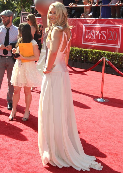 Lindsay Vonn at the ESPY Awards at the Nokia Theatre in L.A.
