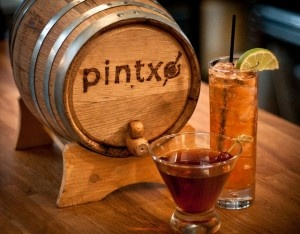 @pintxoseattle Love this drink: Inti – Old Overholt rye whiskey, Licor 43, Aztec choco bitters