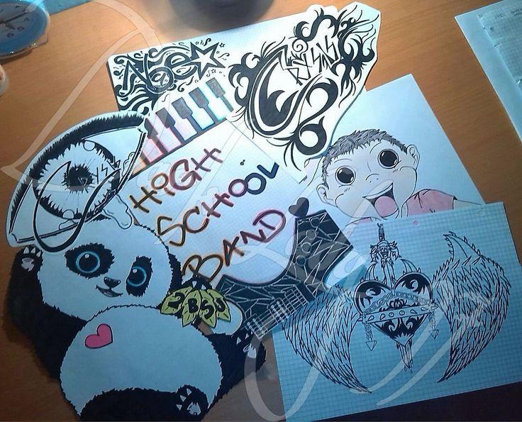 mixed draw by Rigoni Chiara // Dark Lady 97