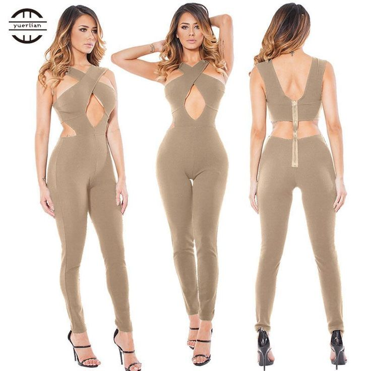 Yel Hot Sexy Girls Backless Playsuit Fitness Tights Jumpsuits Costume Yoga Sport Suit One Piece Bodysuit Gym Tracksuit For Women #yogatracksuits