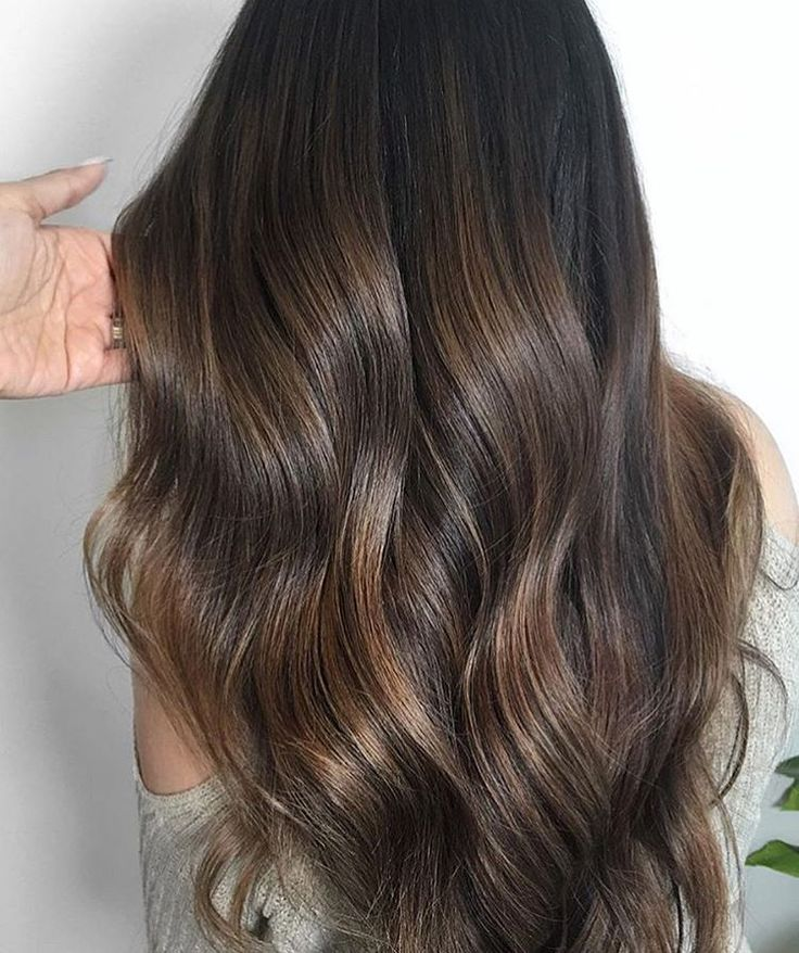 The 25 best chocolate highlights ideas on pinterest chocolate brown hair with chocolate highlights chocolate beauty submission by xofarhanalayage pmusecretfo Images