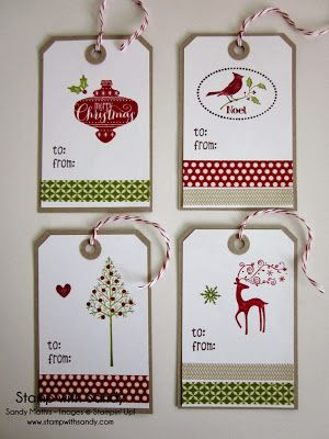 Stampin' Up Products Used: Stamp Sets: Warmth and Wonder, Create a Cupcake (little heart), Very Merry Tags (to  from), Best of Christmas, H...