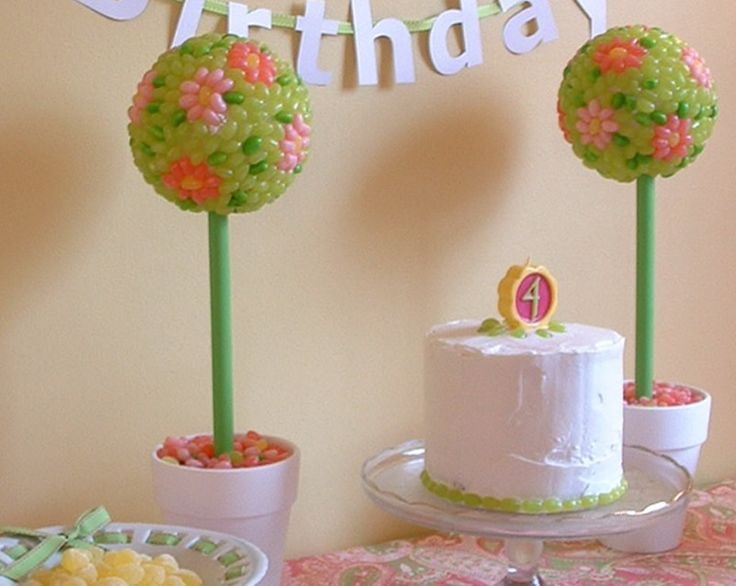 Jelly Bean Topiary - mazelmoments.com.  Beautiful! But I can't image the time and effort that would go into this!
