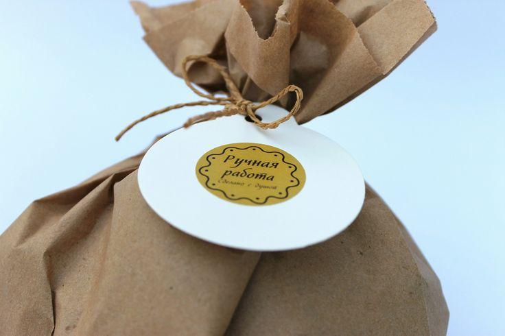 Бумажная упаковка для десертов ручной работы=))