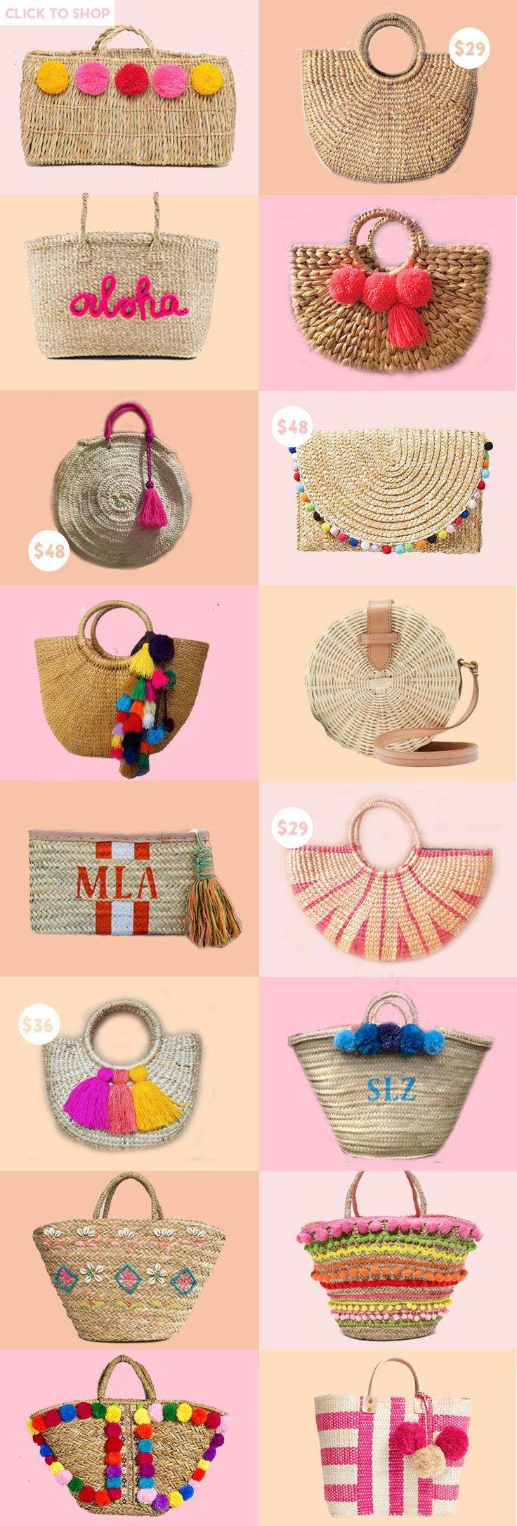 best straw bags of the summer