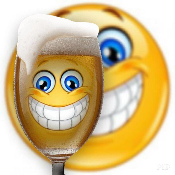 Beer smiley