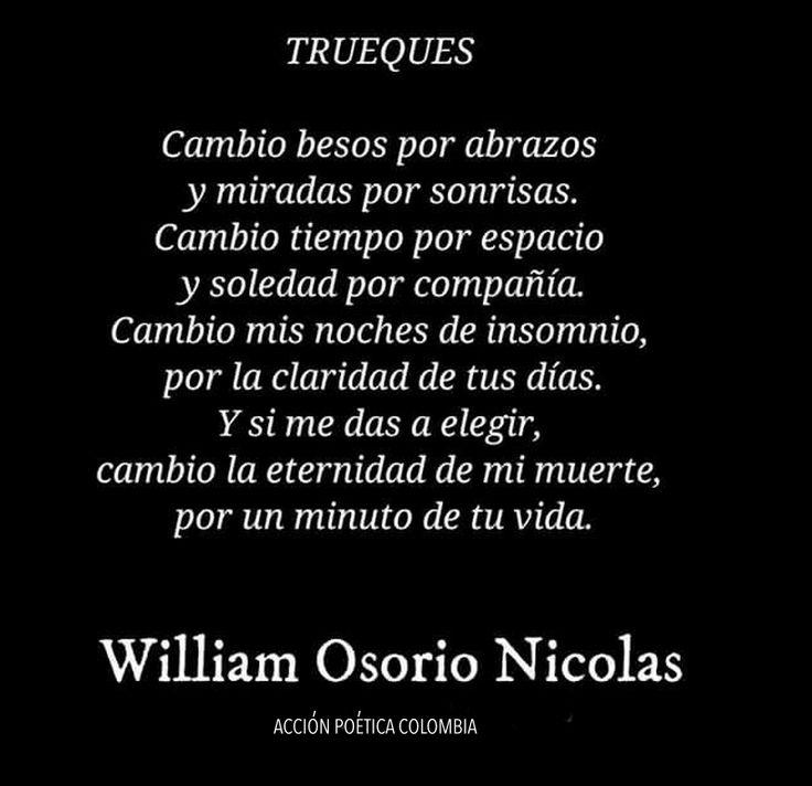 Trueques - William Osorio Nicolas