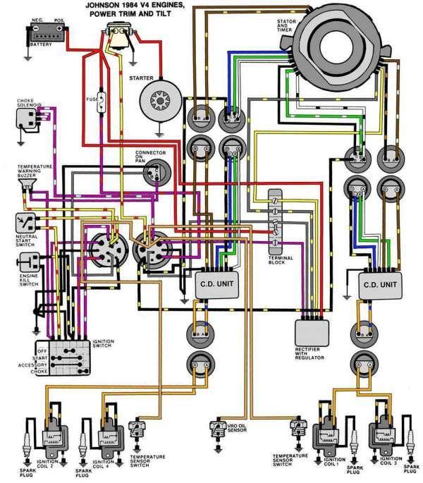 Evinrude Tilt Trim Wiring Diagram