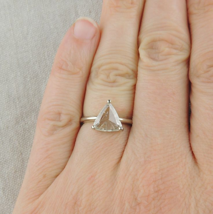 25 best ideas about triangle ring on stacking