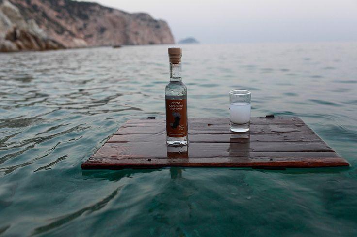 Top flavour triple-distilled  Ouzo Kazanisto - Stoupakis Distillery from Chios Island Greece http://agoragreekdelicacies.co.uk/online-shop/4570272291/Liquors-Spirits
