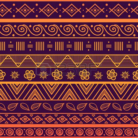Tribal gestreepte naadloos patroon. Hand getrokken aztec achtergrond. Zachte kleuren. Kan worden gebruikt in stof ontwerp voor het maken van kleding, accessoires; het creëren van decoratief papier, verpakking, envelop; in web design, etc. photo