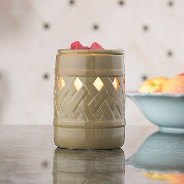 Lattice Fragrance Candle Warmer