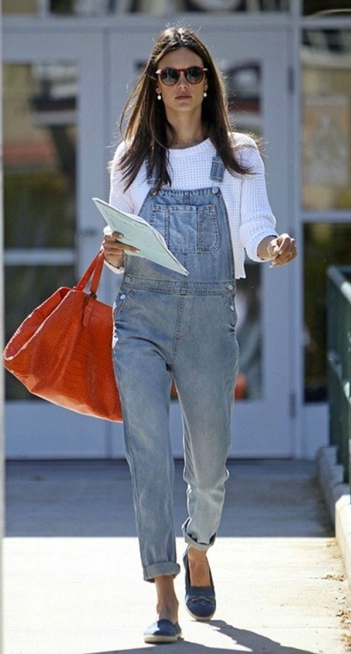 I had a dream about overalls last night.....and was hoping we would see more.....so funny, this is one of the top boards in my feed this morning.....