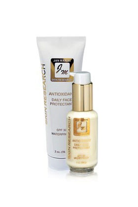 Top Rated Sunscreen for Face: Jan Marini Skin Research Antioxidant Daily Face Protectant: Skincare