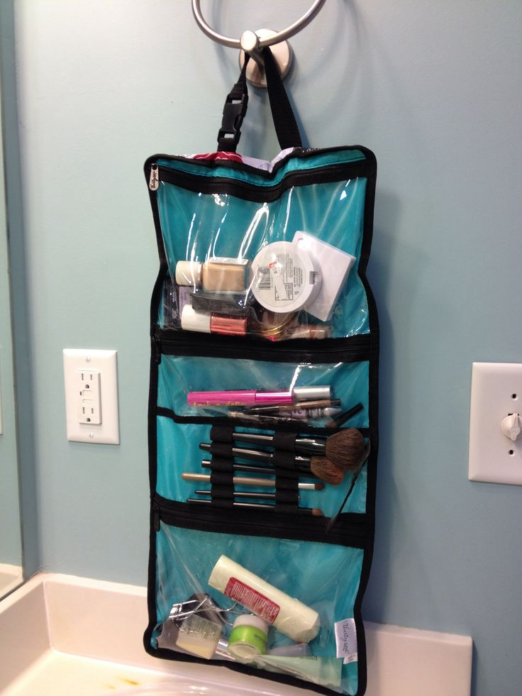 Thirty One Timeless Beauty Bag Saves Valuable Counter