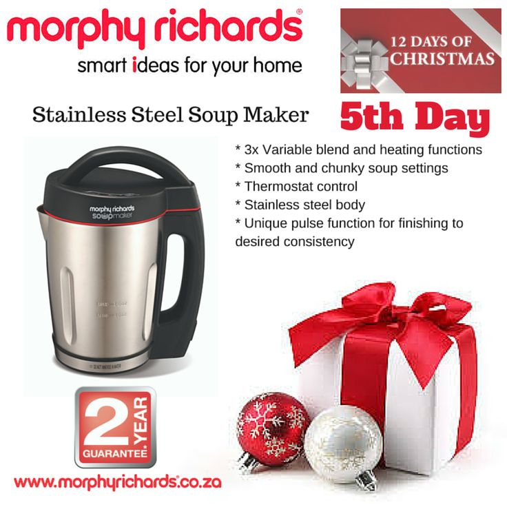 5th Day - Stainless Steel Soup Maker