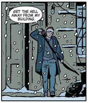 Clint's a total badass. | Community Post: 24 Reasons Why You Should Be Reading Matt Fraction's Hawkeye
