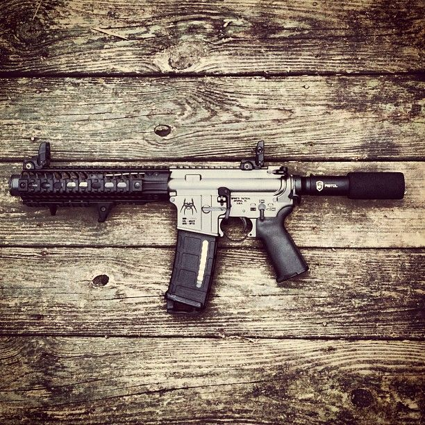 Spikes AR-15 Pistol by cornbred15