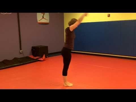 USAG Level 1 compulsory floor routine - YouTube