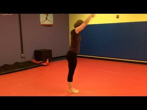 USAG Level 1 compulsory floor routine - YouTube
