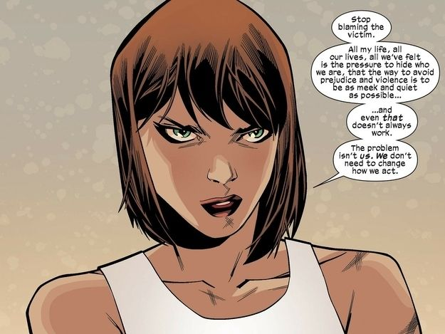 Kitty Pryde is over your victim blaming nonsense. | 23 Times Lady Superheroes Were 1000% Done  HAIR
