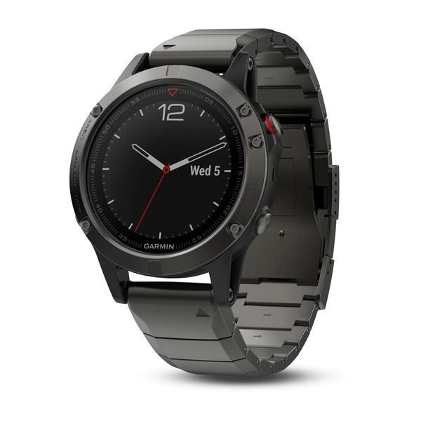 Picture of Garmin fenix 5 Slate Grey Sapphire with Metal Band - 12 άτοκες δόσεις