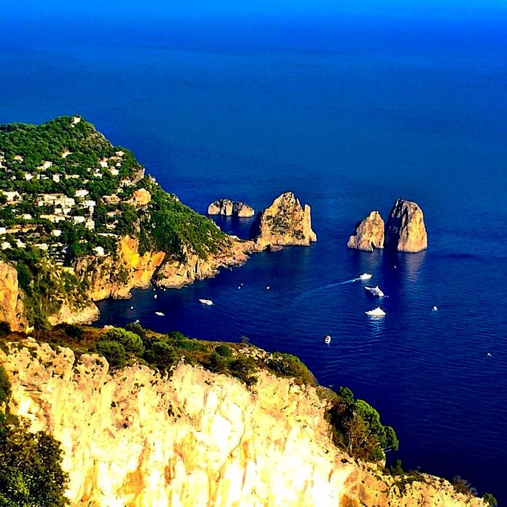 Blue on the Rocks - Capri, Italy