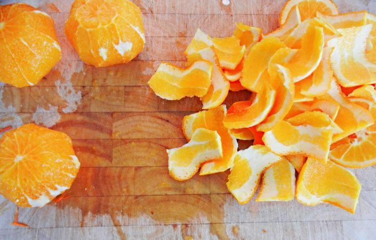 Sinaasappelschillen. Foto: Fox and fern, Flickr