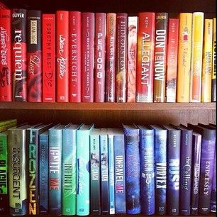 Re-arrange all your books. | 17 Things To Do When You Are Bored Out Of Your Mind