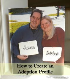 How to Create an Adoption Profile ~ The H in Home
