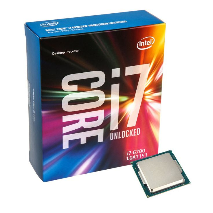 #Intel Core i7-6700 8M Skylake Quad-Core 3.4 GHz LGA 1151 65W Desktop Processor