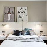tapicerowany szczyt łóżka, projekt: ANNA KOSZELA, FOTO TOMIRRI
