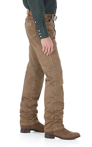 Wrangler Cowboy Cut Black Whiskey Slim Fit Jeans