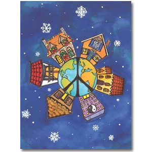 Global Village Holiday Cards