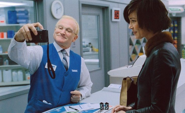 One Hour Photo , 2002. There are no words for how much I love this movie. Robin was absolutely amazing in this.