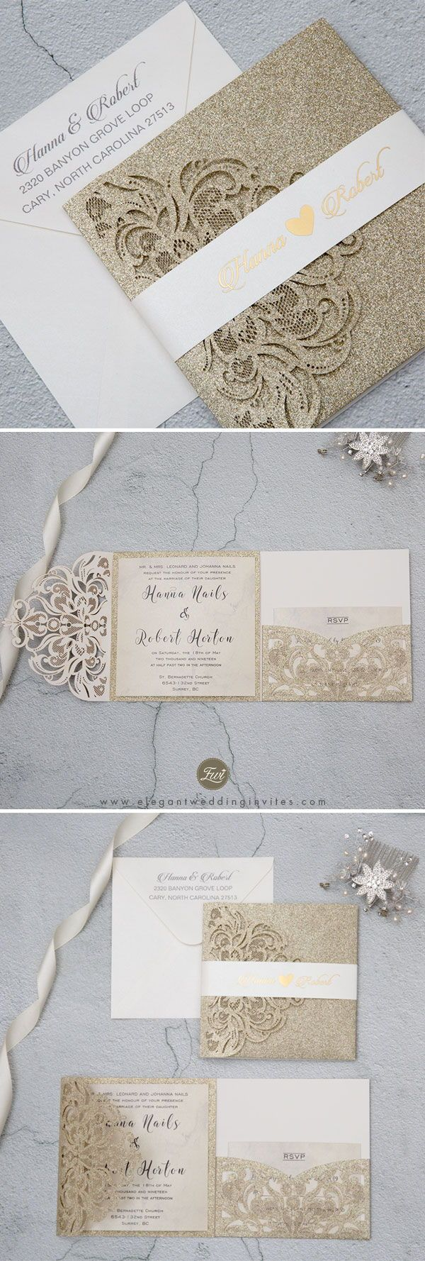 343 Best Wedding Invitations Images On Pinterest