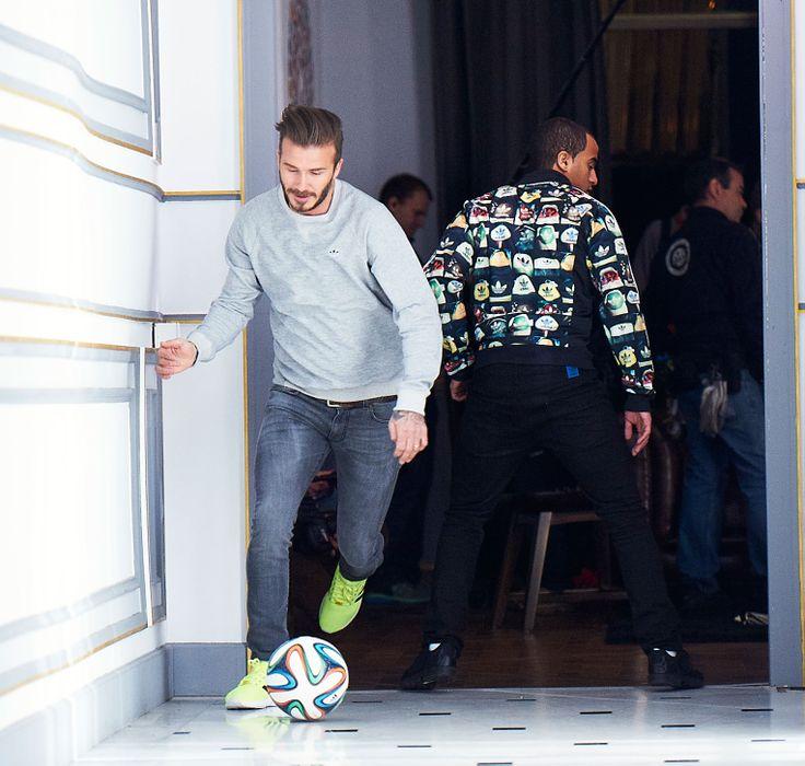 Adidas Launch 'House Match' feat. David Beckham  - http://www.dmarge.com/2014/06/adidas-house-match.html