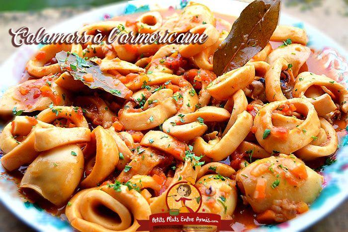 Cette recette de calamars à l'armoricaine est celle que faisaient ma mère et ma grand-mère. C'est un plat facile à préparer mais qui demande un peu de temps de cuisson afin que les cala…