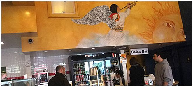 I love La Corneta Taqueria Restaurant in San Francisco (G.Park). It is the best place to get a great burrito or food; the prices are decent and the place is well kept as far as cleanliness.