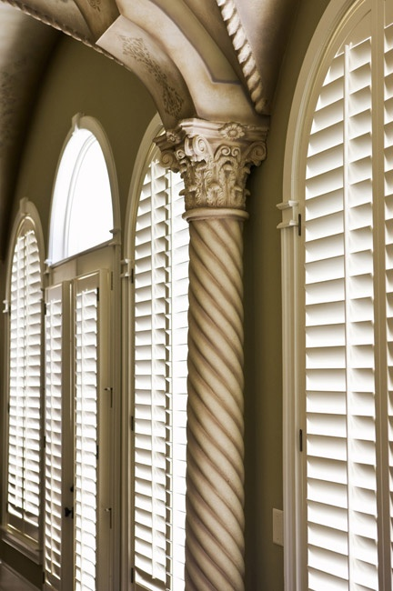 For a very practical application in shading the interior of your home and yet still enables the uninterrupted passage of cool air are Accent Blinds' wide range of Shutters. Accent has a wide range of these Shutters that you can choose from their Plantation Shutters, Aluminum Shutters, Timber Shutters and Roller Shutters. These are all quality manufactured and materials chosen by Accent's expert artisans making sure that every Accent Shutter will suit your interior needs.