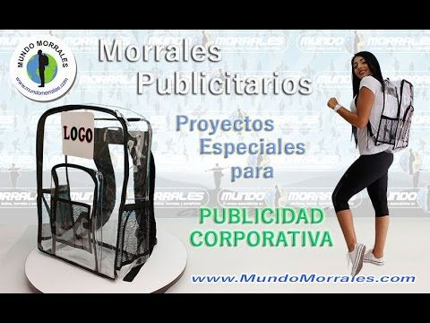 Morral para Agencias de Publicidad / Backpack to Advertising Agency