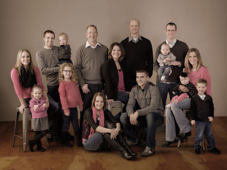 Indoor family photos