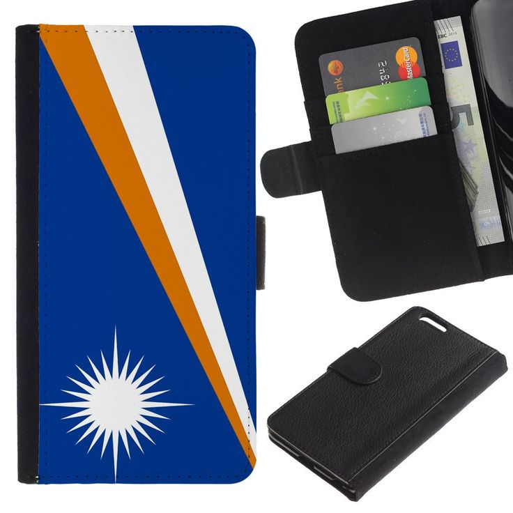 STPlus Marshall Islands Marshallese Flag Wallet Card Holder Cover Case for Apple iPhone 6 Plus / 6S Plus. Case for: Apple iPhone 6 Plus / 6S Plus. Wallet type case. High resolution design. Allows you to access all buttons and ports without removing the case. Fits your device perfectly.