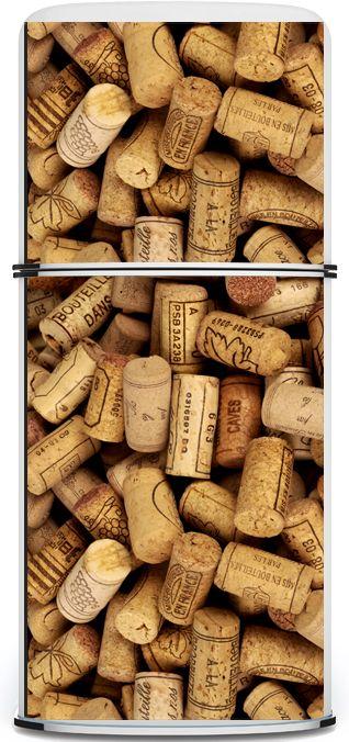 Geladeira Adesivada - Wine