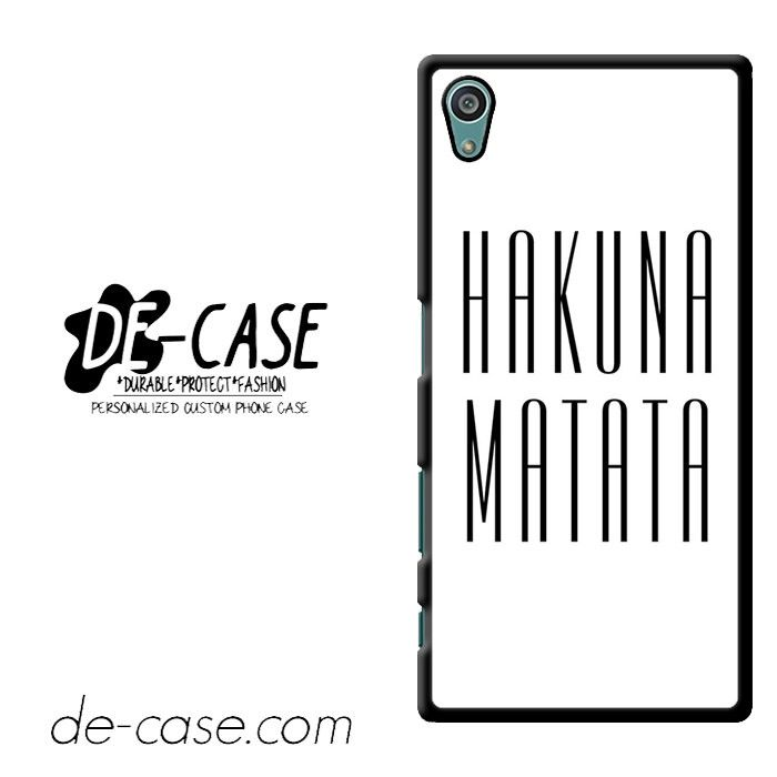 Lion King Hakuna Matata DEAL-6550 Sony Phonecase Cover For Xperia Z5