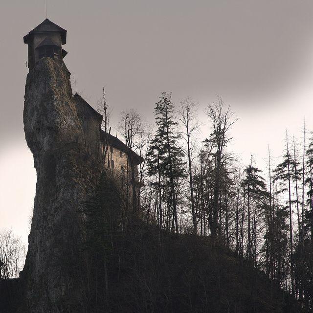 """Rock"" by Grzegorz Formicki. Oravski Zamok - Castle near the border between Slovakia and Poland. Nosferatu was filmed here. ~To the Castle!~"