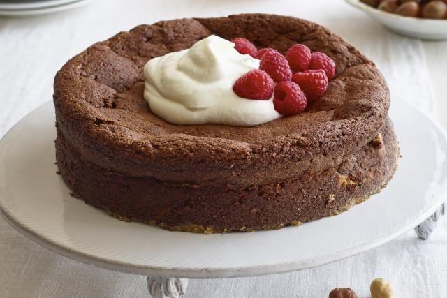 Lidia Chocolate Hazelnut Cake