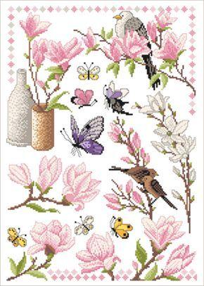 die besten 25 magnolien ideen auf pinterest magnolienbl te magnolie und wei e blumen. Black Bedroom Furniture Sets. Home Design Ideas