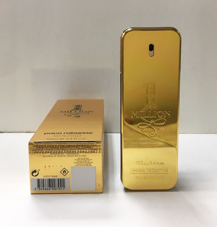 Mens Fragrances: 1 One Million Paco Rabanne Cologne For Men 3.4 Oz 100Ml Edt New In Box -> BUY IT NOW ONLY: $39.95 on eBay!